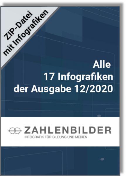 Alle 17 Infografiken der Ausgabe 12/2020
