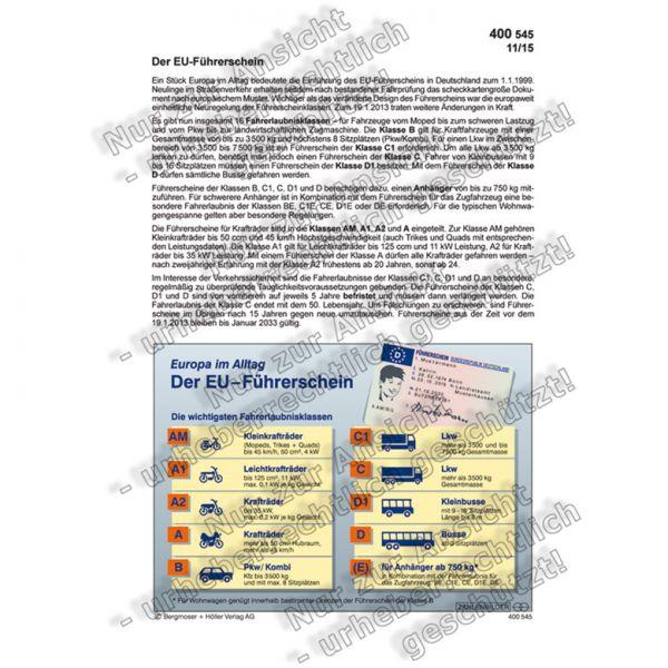 Der EU-Führerschein