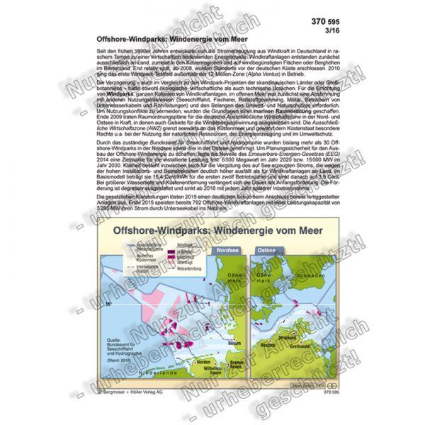 Offshore-Windparks: Windenergie vom Meer