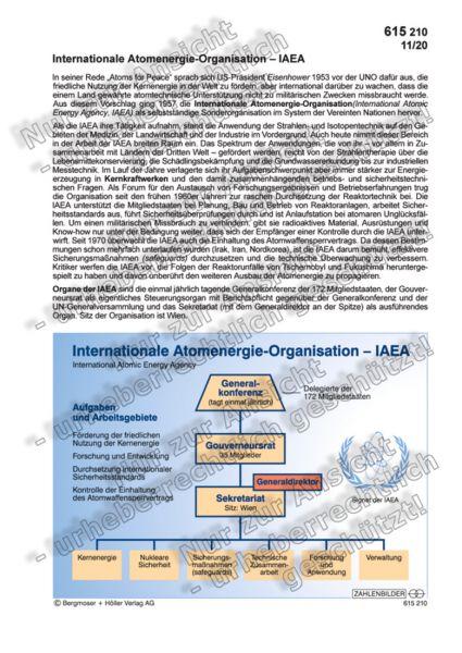 Internationale Atomenergie-Organisation - IAEA