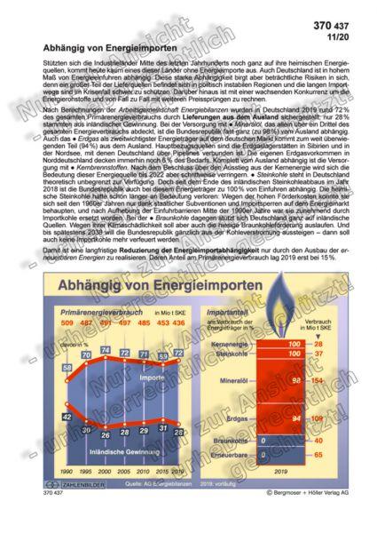 Abhängig von Energieimporten