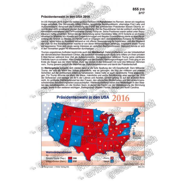 Präsidentenwahl in den USA 2016