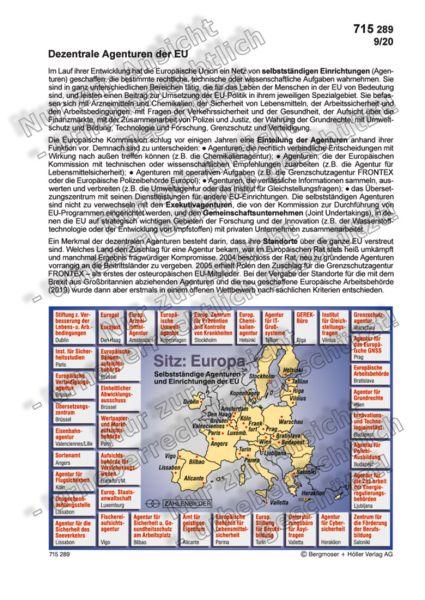 Dezentrale Agenturen der EU