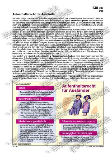Aufenthaltsrecht für Ausländer