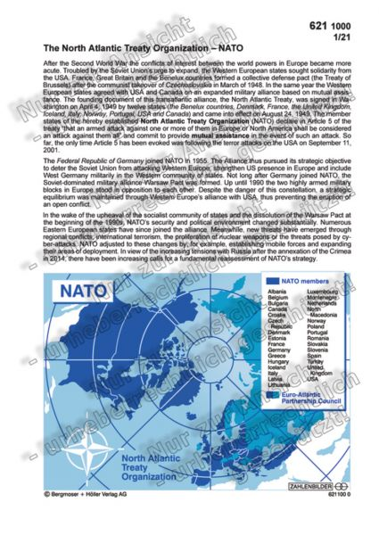 The North Atlantic Treaty Organization ? NATO