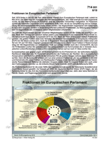 Fraktionen im Europäischen Parlament