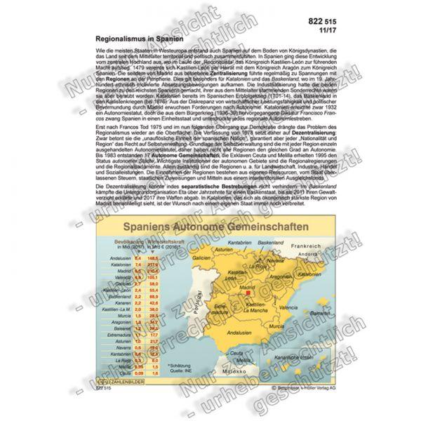 Regionalismus in Spanien