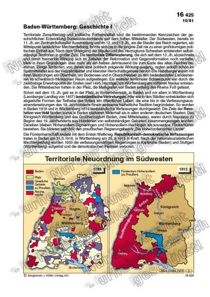 Territoriale Neuordnung im Südwesten